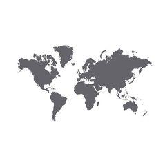 KLÄTTA Selvklebende dekorasjon IKEA Det dekorative verdenskartet kan du også…