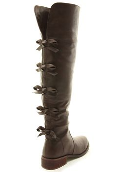 Kristen Pretty Bow Boots from Gypsy Outfitters - Boho Luxe Boutique