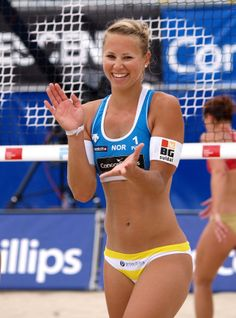 Siri Bjorkesett , Norway BeachVolley
