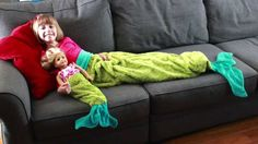 Sew A Mermaid Tail Blanket