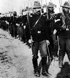 Black soldiers serving in Spanish-American War