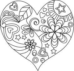 12 coloriages pour la fête des mères (avec un cadeau !)  La cour des petits