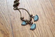 Items similar to Ethnic tribal boho necklace bohemian jewelry, Charms and pendants oriental necklace, Boho bibs blue patina necklace on Etsy Boho Necklace, Stone Necklace, Pendant Necklace, Ethnic Jewelry, Bohemian Jewelry, Unique Jewelry, Fashion Jewelry, Pendants, Handmade Gifts