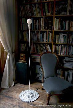 Rose Lamp by Benjamin Parton