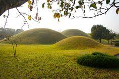 Korean Burial Mounds