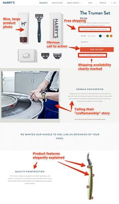 The Product Page
