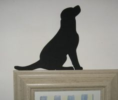 I found my next tattoo!!!!  Labrador door topper