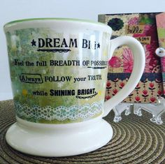 BlissfulFavs.com Awesome #giftidea for anyone who loves #coffee #coffeetime #christmas #kellyraeroberts collection #blackfriday #cybermonday #discounts #freeshipping #dreambig #lawofattraction