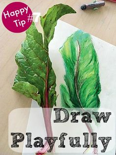 21 Ways to Be Happy Every Day - #7 Draw Playfully