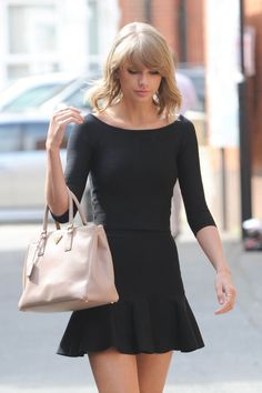 Taylor Swift chic street style