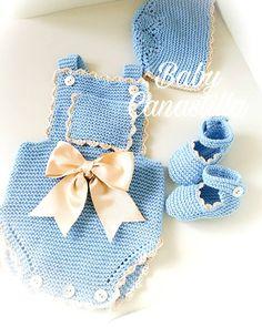 Baby Girl Fashion, Kids Fashion, Baby Patterns, Crochet Patterns, Baby Romper Pattern, Crochet Baby Clothes, Natural Baby, Baby Knitting, Diy And Crafts
