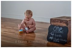 1 year old session studio session childrens photography by Amanda Mann Photography