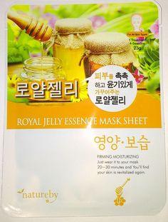 Natureby Royal Jelly Essence Mask K-Beauty 1pcs #Natureby
