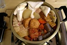 Travel for foodies:  Oden - Japan: comfort food. This winter staple comprises a soup in which ingredients are slowly simmered, including tofu, fish cakes, eggs, vegetables a...