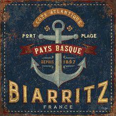 vintage ads © bruno pozzo 2016 Pub Vintage, Vintage Metal Signs, Vintage Labels, French Vintage, Decoupage Vintage, Decoupage Paper, Biarritz France, Etiquette Vintage, Images Vintage