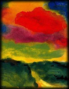 """Voici """"Nuage rouge"""" qui passe devant nos yeux --- Afficher l'image d'origine"""