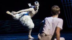 Stronger: Chris Trenfield in Matthew Bourne's <em>Swan Lake</em>.