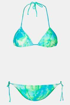 Topshop Tie Dye Bikini