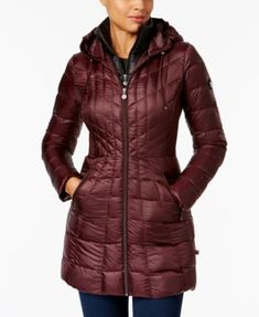 Bernardo Hooded Packable Puffer Coat | macys.com
