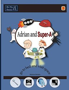 "Amazon.com: ""adrian and super-A"": Life Skills Books & Workbooks for Children with Autism and ADHD (3-10 year-old boys and girls)"