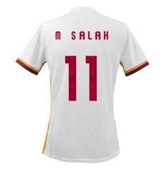 Voici les Nouveau maillot de foot extérieur M Salah Rome 2016 est 21.99  euro As Roma 4f75b36cc38