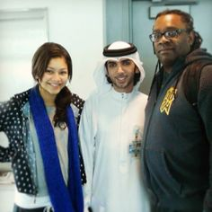 Me & my dad got welcomed to Dubai