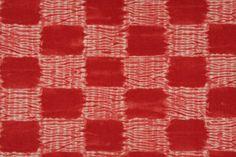 Schumacher Island Check Printed Cotton Drapery Fabric In Coral