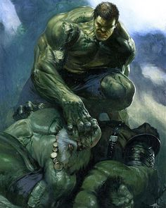 Hulk Smash Hulks By Gabriele Dell Otto