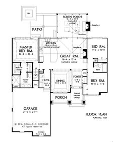 House Plan 1420 has