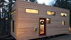 "Couple Builds Own Tiny House on Wheels in 4 Months for $22,744.06- ""hOMe"" FULL TOUR - YouTube"