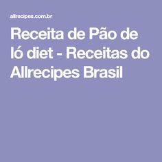 Receita de Pão de ló diet - Receitas do Allrecipes Brasil