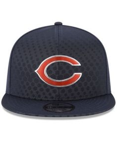 New Era Chicago Bears On Field Color Rush 9FIFTY Snapback Cap - Blue  Adjustable Color Rush 0303064ed