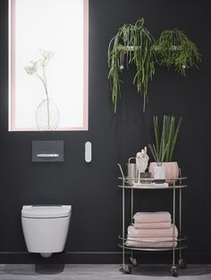 Styled by Come Down to the Woods. Bringing the ultimate wellbeing experience to the bathroom, the elegant AquaClean Sela shower toilet offers an unmistakable feeling of freshness with its gentle, oscillating spray and cutting-edge smart toilet features. Large Bathrooms, Amazing Bathrooms, Modern Bathroom, Small Bathroom, Relaxing Bathroom, White Bathroom, Sophie Robinson, Mad About The House, Black Rooms