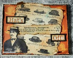Artistic Outpost: Hats and More Hats!