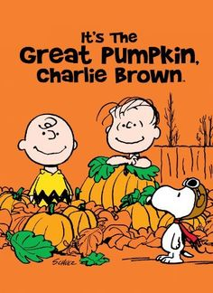"It's the Great Pumpkin, Charlie Brown. ""Stupid"" and ""Blockhead"" references aside, it's still the best."