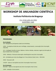 Workshop de Anilhagem Científica