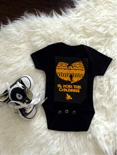 wu-tang+is+for+the+children+onesie+/+aztec+pattern+by+SinKittyDsgn