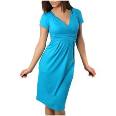 Partiss Damen Candy Color Strandkleid mit V-Ausschnitt Maxikleid Sommerkleid Abendkleid Tuchkleid