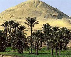 Egypt Picture - The Pyramid of Amenemhet I at Lisht