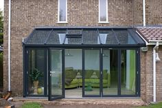 Lean-To Conservatories - Conservatory - Radcliffe Glass Windows Extension Veranda, Conservatory Extension, House Extension Design, Glass Extension, House Design, Extension Ideas, Lean To Conservatory, Glass Conservatory, Conservatory Design