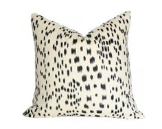Les Touches Black Designer Pillow Cover by AriannaBelle on Etsy Black Pillow Covers, Black Pillows, Decorative Pillow Covers, Sofa Pillows, Throw Pillows, Decor Pillows, Accent Pillows, Accent Chairs, Luxury Throws