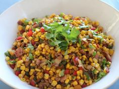 Get Ginger and Coriander Corn Salad Recipe from Cooking Channel