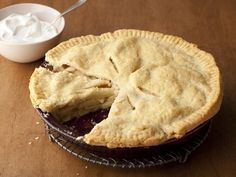 Food Network invites you to try this Apple Pie recipe from Bobby Flay.
