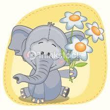 Resultado de imagen para elefante bebe animado
