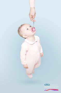 Oral-B crea esta #solucion para comunicar que sus productos son de la mejor calidad.