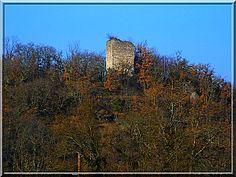 Au dessus du petit bourg de Saint Nazaire en Royans trônent fièrement les vestiges du vieux château fort. Il sait que les nombreuses plantes piquantes l'entourant seront des armes efficaces pour tenir au loin les touristes aventureux.
