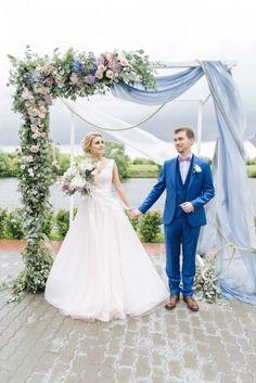 50 потрясающих арок и фонов для свадебной церемонии