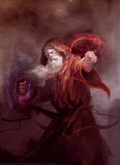 Iderion Manded é um dos magos mais conhecidos de Edorun. Formado na Academia Arcana de Karnosea, Iderion mostrou-se um gênio da magia arcana desde a mais tenra idade. Correspondeu-se com os grandes nomes da magia do mundo, foi um famoso aventureiro e, depois do massacre de Blaen, sua vila de origem e a morte de sua família pelas forças Lotahrianas, juntou-se aos Sentinelas. É hoje o líder da Ordem. Reputação 22.
