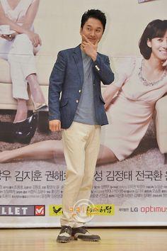장현성 (Jang Hyun-sung) at the 'Goddess of Marriage' press conference