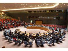 Votación en el Consejo de Seguridad de Naciones Unidas.